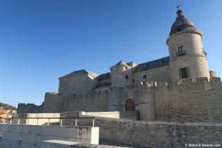 Castillo y archivo general de Simancas