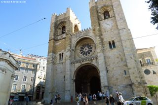 Sé o catedral de Lisboa, donde hallaremos la primera flecha amarilla