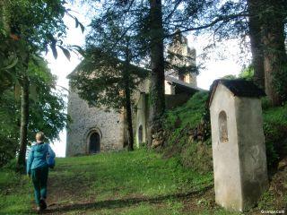 Llegando a la Chapelle du Calvaire, Castillon-en-Couserans