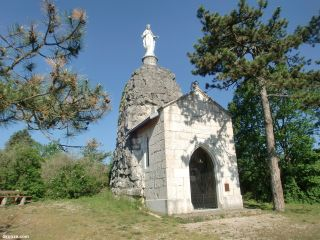 Chapelle Notre-Dame-de-la-Montagne, a la salida de Yenne