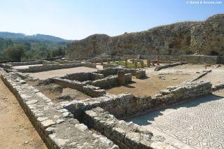 Ruinas de la ciudad romana de Conímbriga