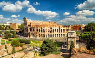 Coliseo —Anfiteatro Flavio— de Roma