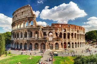 Coliseo de Roma, anfiteatro del Imperio Romano