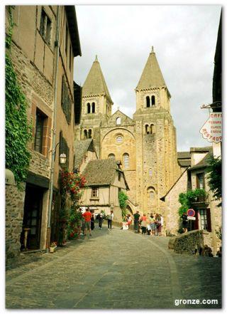 La abadía de Saint Foy, Conques