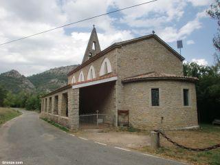 Iglesia de Nuestra Señora de Pereda, llegando a Crémenes