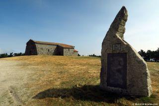 La ermita do Faro, el punto más alto del Camino de Invierno