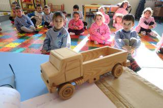 Niños del jardín de infancia de Casa da Árvore