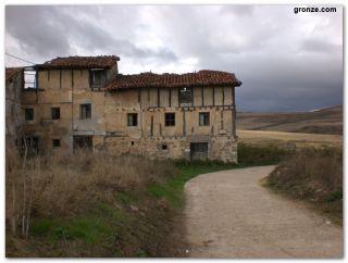Salida de Espinosa del Camino
