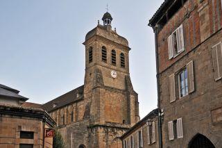 Iglesia de Saint-Sauveur, Figeac