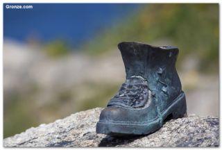 Bota del Peregrino, cabo de Finisterre