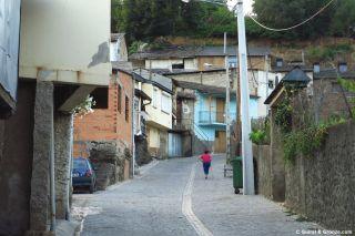 Calle del barrio de Fontei, A Rúa de Valdeorras