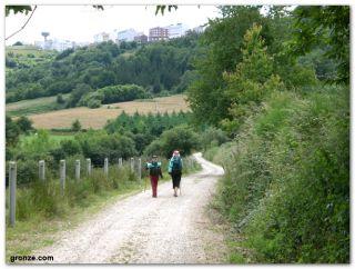 A Fonsagrada en el Camino Primitivo