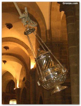 El botafumeiro de la Catedral de Santiago