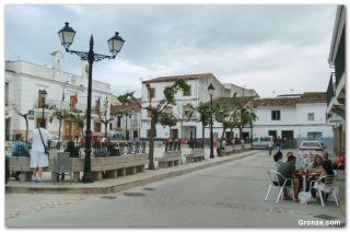 Plaza de España, Galisteo