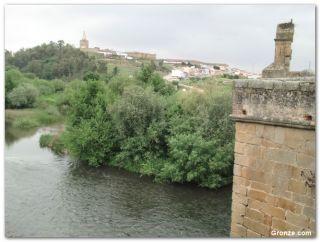 Río Jerte y Galisteo, desde el puente medieval