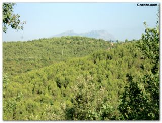 Montserrat desde la sierra de Galliners