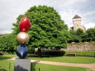 Obra de arte y catedral de Saint-Bertrand-de-Comminges