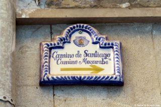 Señalización del Camino Mozárabe en Granada