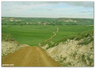De camino a Hornillos del Camino, en primavera