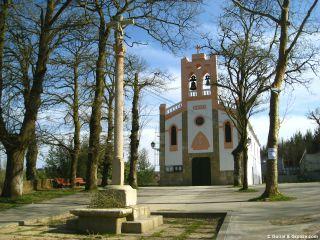 Iglesia de Barciela, en las afueras de Sigüeiro