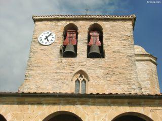 Campanario de la iglesia de Santa Eufemia, Tiebas