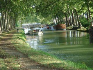 Canal du Midi en Toulouse (Foto: Yellen - Wikipedia)