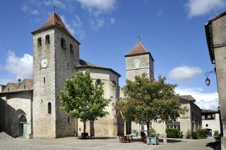 Iglesia de Saint-Barthélemy, Lauzerte