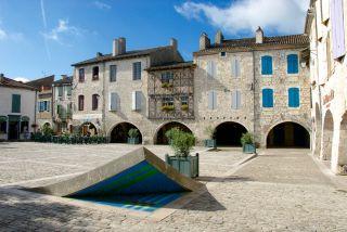 Plaza porticada de Cornières, Lauzerte