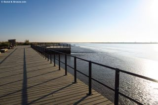 Litoral del río Tajo ante Póvoa de Santa Iria