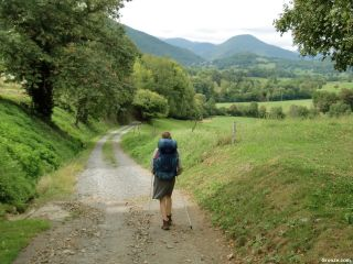 Saliendo de Montsérié