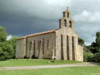 Iglesia en Malegoude