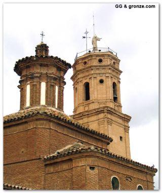 Iglesia de Nuestra Señora de los Ángeles, Mallén