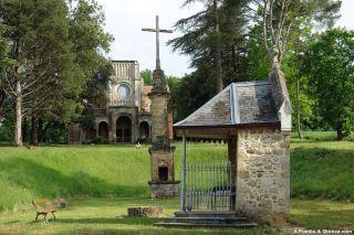 Iglesia Nôtre-Dame-de-la-Croix, poco antes de Marciac