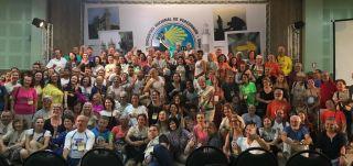 Participantes en el encuentro jacobeo de Salvador de Bahía (Brasil) (Foto: Santiago Bahia Abacs)
