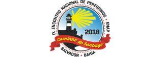 Logo del IX Encontro de asociaciones jacobeas en Bahía