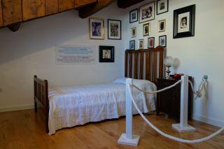 Dormitorio del autor, Casa-Museo de Álvaro Cunqueiro
