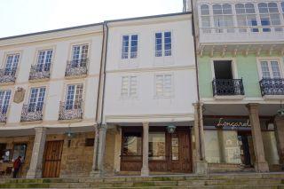 Casa-Museo de Álvaro Cunqueiro, exterior (en el centro)