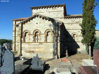Iglesia de Santa Marta de Tera, ábside románico