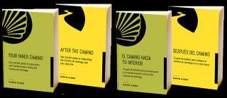 Portada de las dos mini-guías de Karin Kiser, en sus versiones en inglés y en español