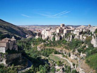 Vista del casco antiguo de Cuenca