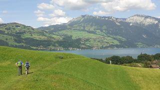 Lago Thun, de camino a Amsoldingen