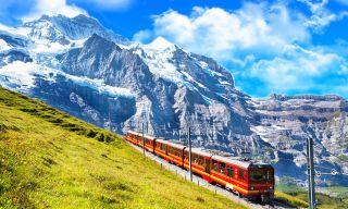 Tren cremallera del Jungfraujoch
