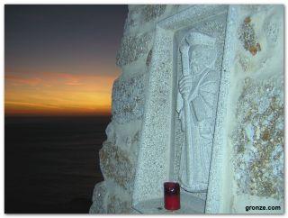 Imagen de Santiago en Finisterre