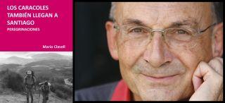 Mario Clavell y la portada de su libro