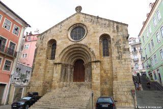 Iglesia de São Tiago en Coimbra