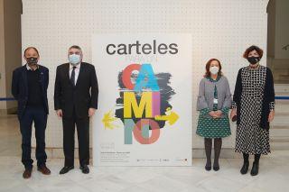 Inauguración de la exposición, Biblioteca Nacional de Madrid