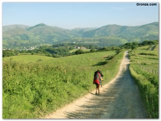 De camino a Souraïde, Camino de Baztan