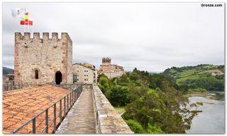 El castillo de San Vicente de la Barquera