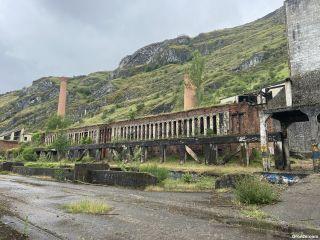 Antigua industria siderúrgica, cerca de Cistierna