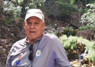 El peregrino Antonio Gil.